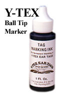 Tag Marking Ink