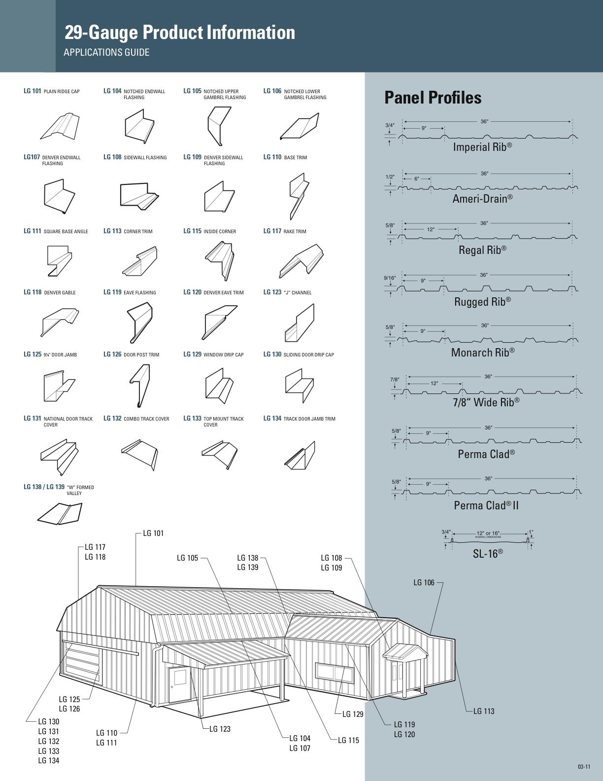 Steel Siding Metal Roofing Items