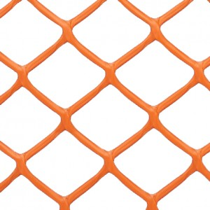 Smooth Top Diamond Safety Fence